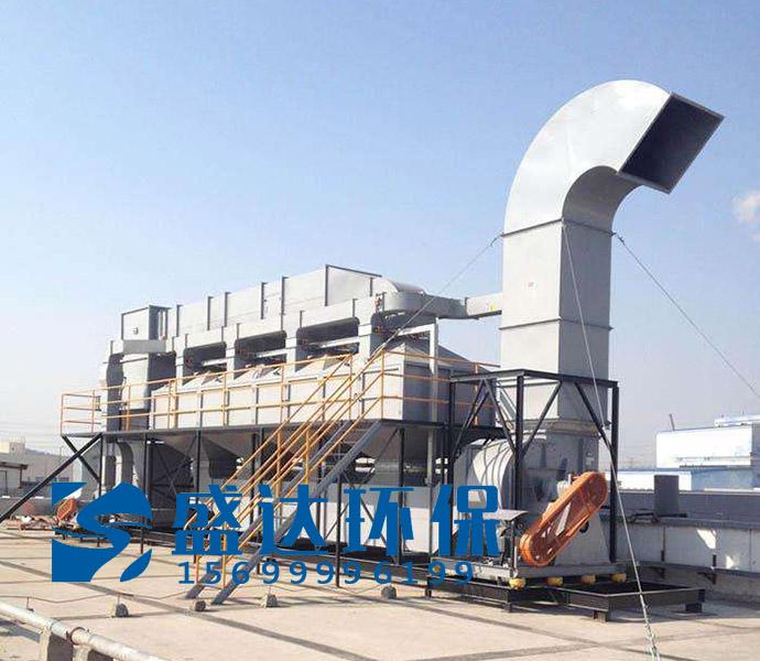北京废气催化燃烧设备 活性炭吸附加脱附(RCO)